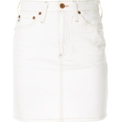 Ag Jeans The Vera denim skirt - White found on MODAPINS from FarFetch.com- UK for USD $358.71
