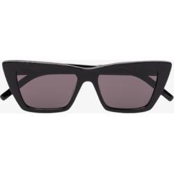 Saint Laurent Eyewear Womens Black New Wave Sl 276 Sunglasses found on Bargain Bro UK from Browns Fashion