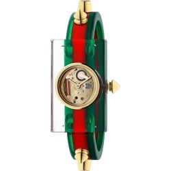 Gucci Vintage Web 24x40mm watch - Green found on Bargain Bro UK from FarFetch.com- UK