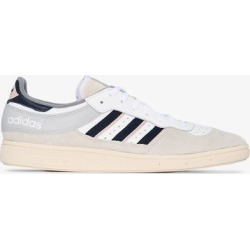 adidas white, grey and pink handball low top sneakers found on Bargain Bro UK from Browns Fashion