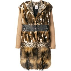 Antonio Marras panelled coat - Brown found on MODAPINS from FARFETCH.COM Australia for USD $3124.15