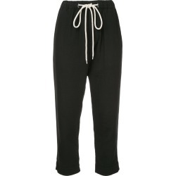 Bassike washed herringbone pull on pant - Black found on MODAPINS from FARFETCH.COM Australia for USD $202.75