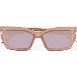 Dior Eyewear Womens Pink Square Tinted Sunglasses found on Bargain Bro UK from Browns Fashion