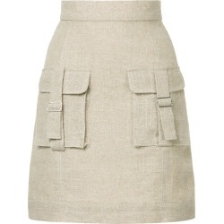 Bambah Sparkle cargo skirt - Brown found on MODAPINS from FarFetch.com - US for USD $319.00