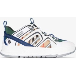 Burberry Mens White Union Sneakers found on Bargain Bro UK from Browns Fashion