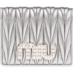 Miu Miu matelassé wallet - Metallic found on Bargain Bro Philippines from FarFetch.com - US for $550.00