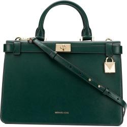 b55e3448aeaa Michael Michael Kors Tatiana tote bag - Green found on MODAPINS from  FarFetch.com -