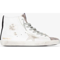 Golden Goose Womens White Francy High-top Sneakers found on Bargain Bro UK from Browns Fashion