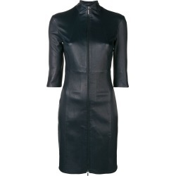Arma front zip fitted dress - Blue found on MODAPINS from FarFetch.com - US for USD $871.00