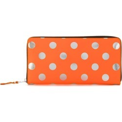 Comme Des Garçons Wallet polka dot wallet - Yellow found on MODAPINS from FARFETCH.COM Australia for USD $297.38