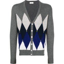 Ballantyne diamond patterned cardigan - Grey found on MODAPINS from FarFetch.com - US for USD $453.00
