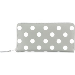 Comme Des Garçons Wallet polka dot zip wallet - Grey found on MODAPINS from FarFetch.com- UK for USD $270.13
