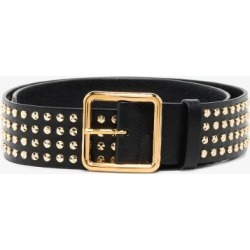 Alexander Mcqueen Womens Black Studded Leather Belt found on Bargain Bro UK from Browns Fashion