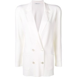 Agnona structured blazer - White found on MODAPINS from FarFetch.com - US for USD $1420.00