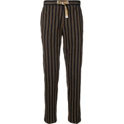 White Sand striped slim fit trousers - Blue