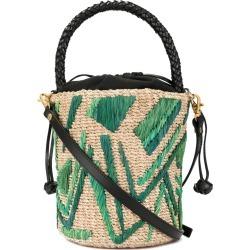 Aranaz Laura Bucket bag - Neutrals found on MODAPINS from FarFetch.com- UK for USD $462.54