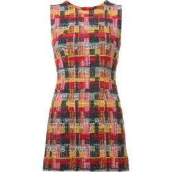 Adam Lippes tweed fitted mini dress - Red found on MODAPINS from FARFETCH.COM Australia for USD $533.34