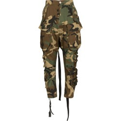 Unravel Project cropped camouflage cargo pants - Green found on Bargain Bro Philippines from FarFetch.com - US for $989.00