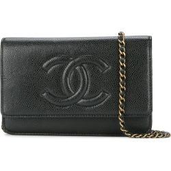 228f726368ec7e Chanel Vintage CC chain wallet - Black found on MODAPINS from FarFetch.com  - US