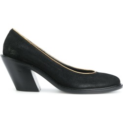 A.F.Vandevorst gold trim pumps - Black found on MODAPINS from FarFetch.com- UK for USD $449.04