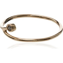 Xiao Wang 14K yellow gold diamond curve ring found on Bargain Bro India from FarFetch.com - US for $265.00