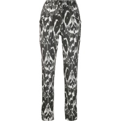 Isabel Marant Étoile Jamie printed stretch trousers - Black found on Bargain Bro Philippines from FarFetch.com - US for $415.00