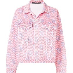 Alexander Wang stripes and stars shirt jacket - Red found on MODAPINS from FarFetch.com - US for USD $551.00