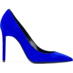 Saint Laurent Zoe pointed-toe pumps - Blue found on Bargain Bro UK from FarFetch.com- UK