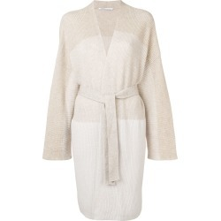 Agnona belted cardigan - Neutrals found on MODAPINS from FarFetch.com - US for USD $1903.00