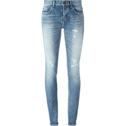 Saint Laurent mid-rise skinny fit jeans - Blue found on Bargain Bro UK from FarFetch.com- UK
