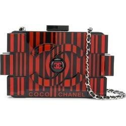 Chanel Pre-Owned Lego clutch - Black