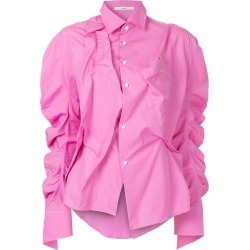 Aganovich colour-block T-shirt - Pink found on MODAPINS from FarFetch.com- UK for USD $1420.04