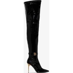 Balmain Womens Black Xx Thigh-high Boots found on Bargain Bro UK from Browns Fashion