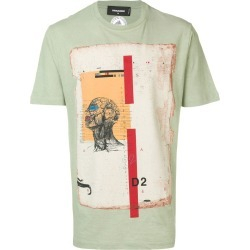 Dsquared2 Anatomy stamp T-shirt - Green found on Bargain Bro India from FARFETCH.COM Australia for $369.60