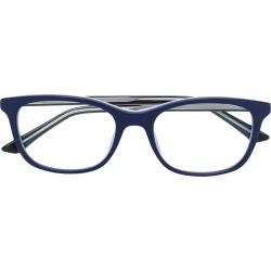 square frame glasses   Blue