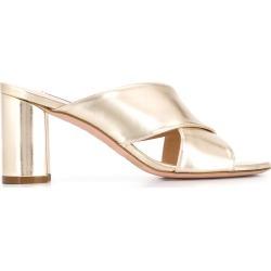 Stuart Weitzman open toe sandals - Gold found on Bargain Bro UK from FarFetch.com- UK