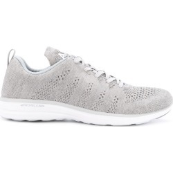 Apl perforated lace-up sneakers - Black found on MODAPINS from FarFetch.com - US for USD $156.00