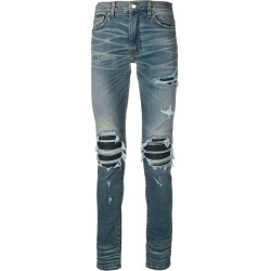 Amiri distressed skinny jeans - Blue found on MODAPINS from FarFetch.com - US for USD $1335.00
