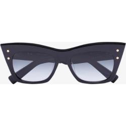 Balmain Eyewear Womens Black B-ii Cat Eye Sunglasses found on Bargain Bro UK from Browns Fashion