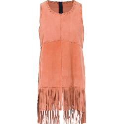 Andrea Bogosian sleeveless top with fringes - Yellow found on MODAPINS from FarFetch.com- UK for USD $424.25