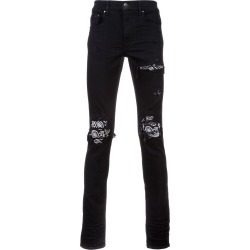 Amiri distressed slim-fit jeans - Black found on MODAPINS from FarFetch.com- UK for USD $2720.48