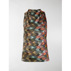 Missoni multicolour pattern knitted top found on Bargain Bro UK from MODES GLOBAL