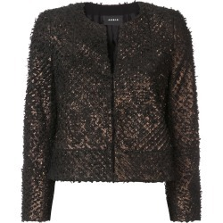 Akris bomber jacket - 094 Brown found on MODAPINS from FARFETCH.COM Australia for USD $5437.01