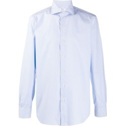 Barba Culto micro square pattern shirt found on MODAPINS from Eraldo for USD $176.98