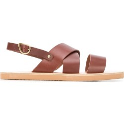 Ancient Greek Sandals Mirtos sandals - Brown found on MODAPINS from FarFetch.com - US for USD $159.00