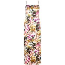 Adam Lippes printed cami dress - White found on MODAPINS from FarFetch.com- UK for USD $718.48
