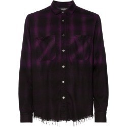 Amiri check print ombre shirt - Black found on MODAPINS from FarFetch.com- UK for USD $749.04