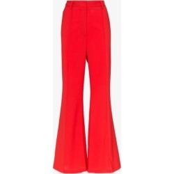 Beaufille Barnet high-waisted flared wool-blend trousers found on MODAPINS from Browns Fashion for USD $451.62