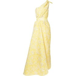 Bambah Clematis pencil gown - Yellow found on MODAPINS from FarFetch.com- UK for USD $3509.45