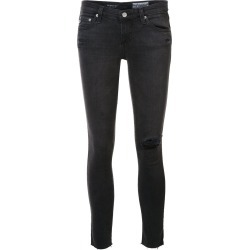 Ag Jeans destroyed detailing cropped jeans - Grey found on MODAPINS from FarFetch.com- UK for USD $343.23